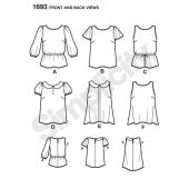 Simplicity Pattern 1693