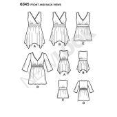 Simplicity Pattern6345