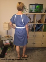 McCalls dress back reflective