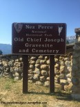 Old Chief Joseph Gravesite