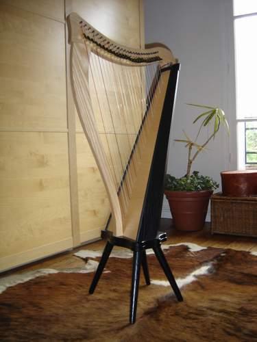 Harpe Ravenna Dusty Strings avec pieds