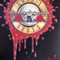 Guns N' Roses | Rare 1980s Promo Poster