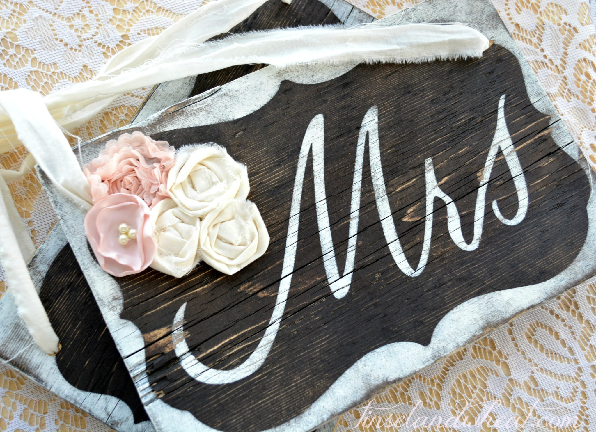 mr and mrs chair signs wedding covers newcastle upon tyne diy tinsel 43 wheat