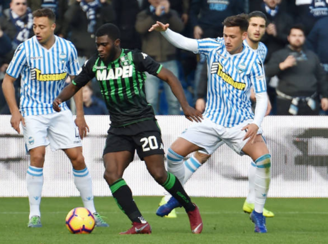 Image result for photos of spal vs sassuolo