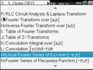 Fourier series calculator piecewise