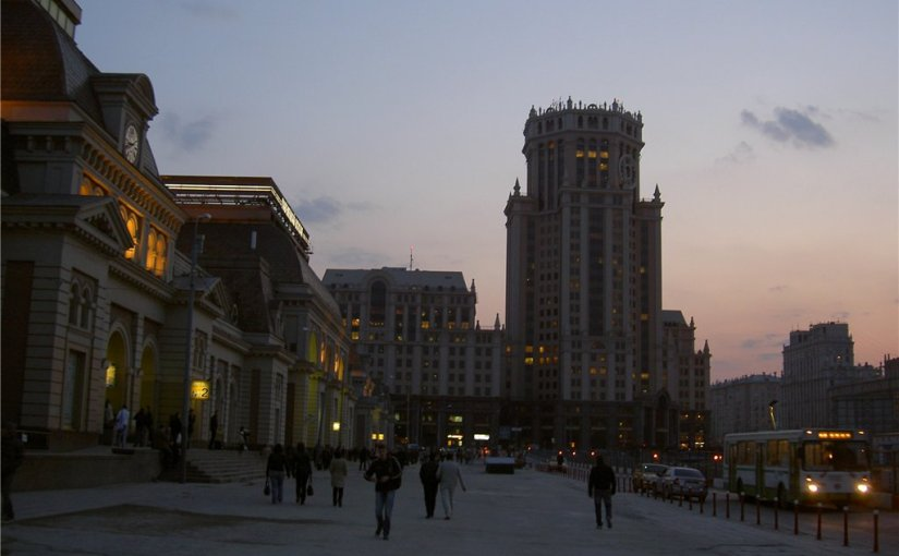 Moscow, Place-full Global City