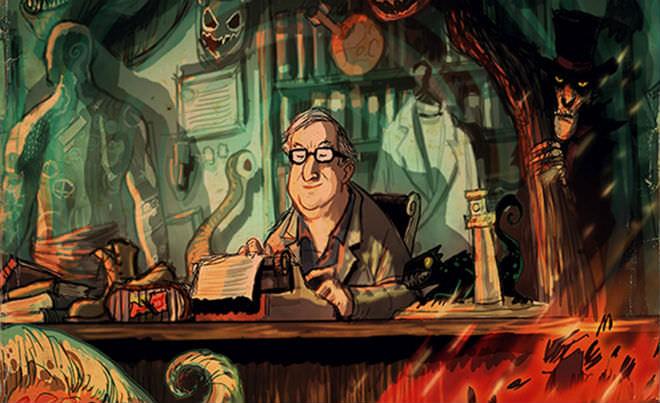 Escribir con el corazón, escribir sin pensar, Ray Bradbury, consejos de Ray Bradbury, consejos para escribir, escribir cuentos