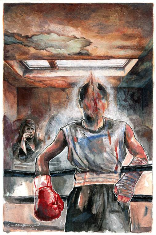 escritura de pelea, tipos de escritura, pelea y escribe, escribe con el cuerpo, herida, lesión, acción, box, kickboxing, ejercicios, talleres