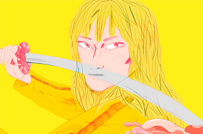 Re-escribir como budista y a la Kill Bill