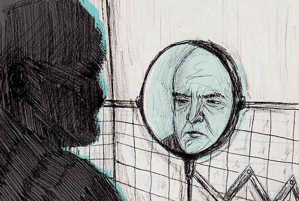 Encuérate frente al espejo (Sugerencias para meter las manos en la autobiografía)