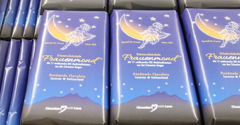 Frauenmond - cramp relieving chocolate!