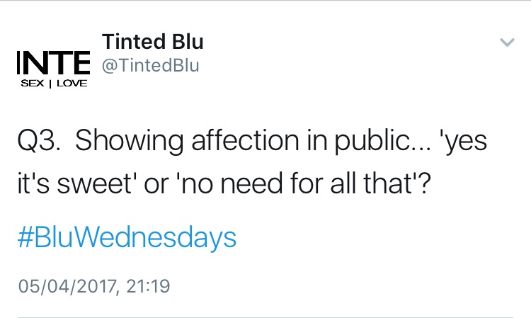 [05·04·2017] #BluWednesdays [2]