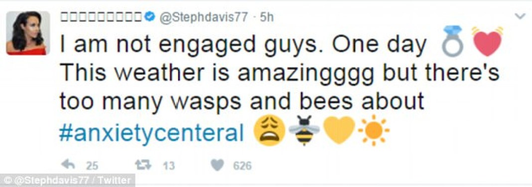 Steph and Jeremy, engaged or nah?