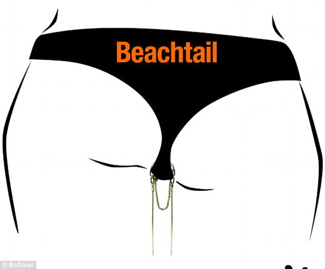 Bling out your crotch with Beachtails!
