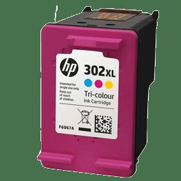 tinteiro-vazio-hp-302XL-tricolor