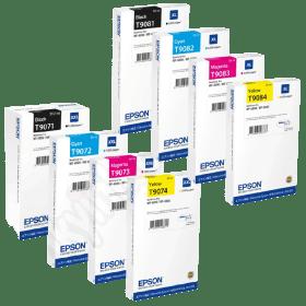 tinteiro vazio Epson SERIES T907 908 BCMY