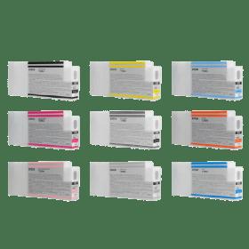 tinteiro vazio Epson T596 BCMY
