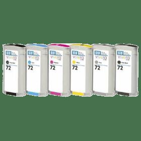 tinteiro vazio HP C9370 1 2 3 4A 72