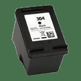 tinteiro vazio HP N9K06AE 304 Preto Reciclado N9K08AE 304XL Preto Reciclado