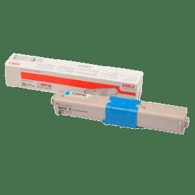 toner vazio OKI C332 MC363 CL