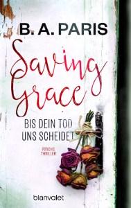 Cover B.A. Paris Saving Grace - Bis dein Tod uns scheidet