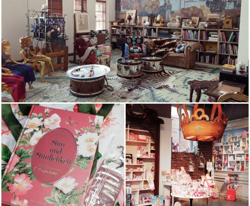 Mix aus drei Bildern, die den Besuch beim Coppenrath Verlag illustrieren