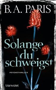 Cover B.A. Paris Solange du schweigst