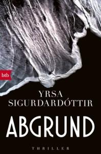 Cover Yrsa Sigurdardóttir Abgrund Kommissar Huldar und Psychologin Freyja Band 4