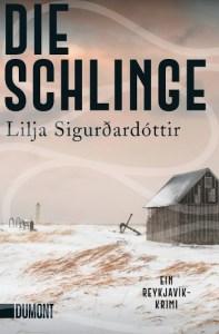 Cover Lilja Sigurðardóttir Die Schlinge