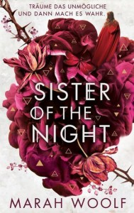 Cover Marah Woolf - Sister of the Night 3