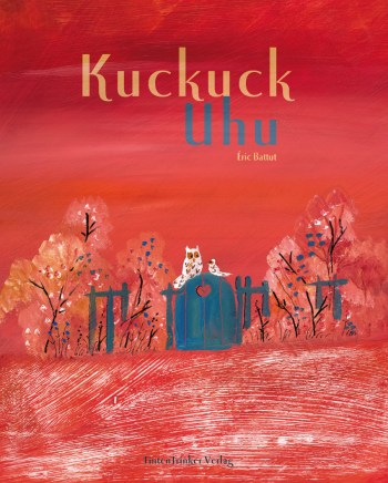 """Eines Abends wird Frau Kuckuck durch den Ruf des Uhus vom Schlaf abgehalten. Sie findet Herrn Uhu und sie begrüßt ihn mit """"Huhu""""..."""