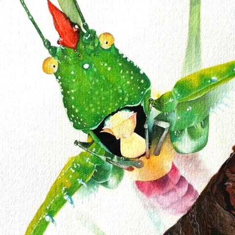 realistic Aquarelle painting