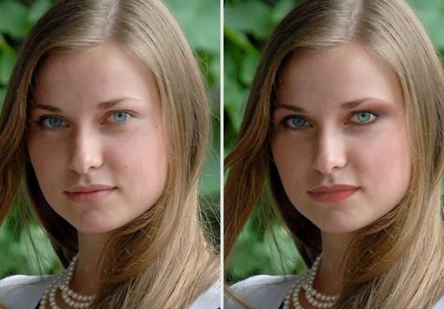 Virtual makeup photo editor
