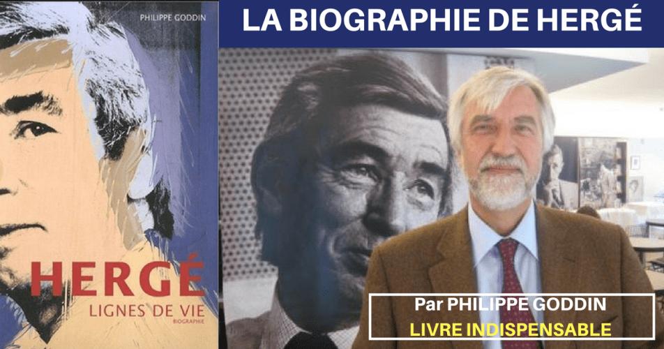 VIDÉO TINTIN : LE LIVRE DE RÉFÉRENCE : HERGÉ LIGNES DE VIE (Biographie)