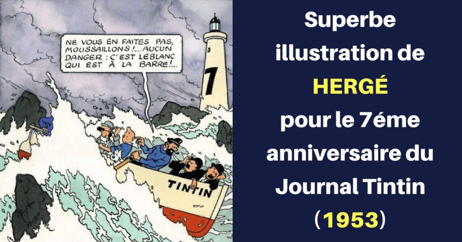 "HERGÉ : ""LA TEMPÊTE"" (1953)"