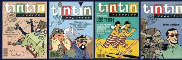 LA SAGA DU TOUT PREMIER ESSAI DE TINTIN REPORTER