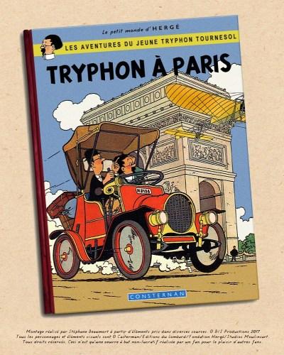 TRYPHON A PARIS, COUVERTURE HOMMAGE STÉPHANE BEAUMORT