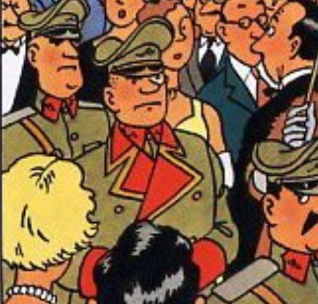 SPONTZ : UN UNIFORME ALLEMAND ET SURTOUT LE FRÈRE DE HERGÉ