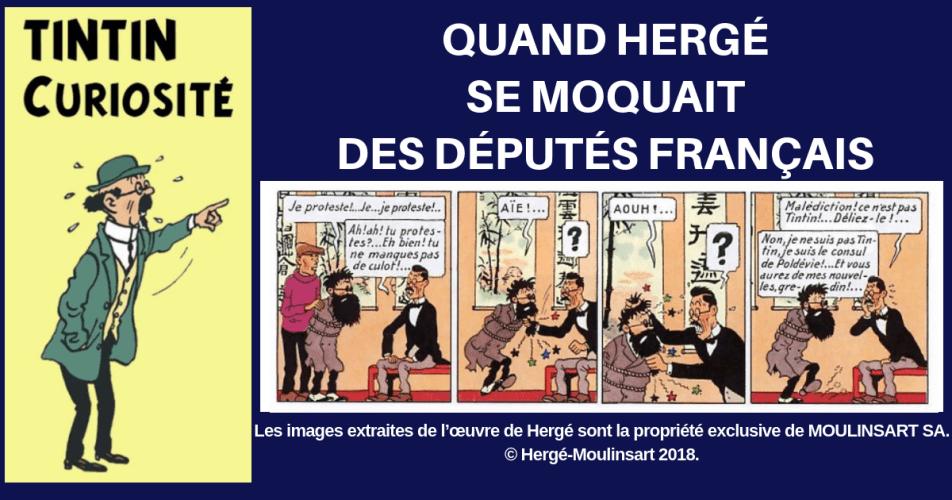 L'HUMOUR DE HERGÉ DANS LE LOTUS BLEU