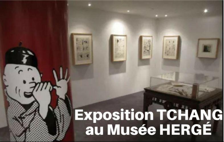VIDÉO : L'EXPOSITION TCHANG AU MUSÉE HERGÉ EN 2009