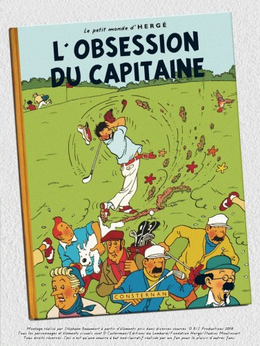 """COUVERTURE-HOMMAGE"" : L'OBSESSION DU CAPITAINE"