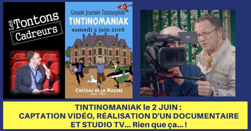TINTINOMANIAK : COUVERTURE VIDÉO DE LA RENCONTRE DU 2 JUIN