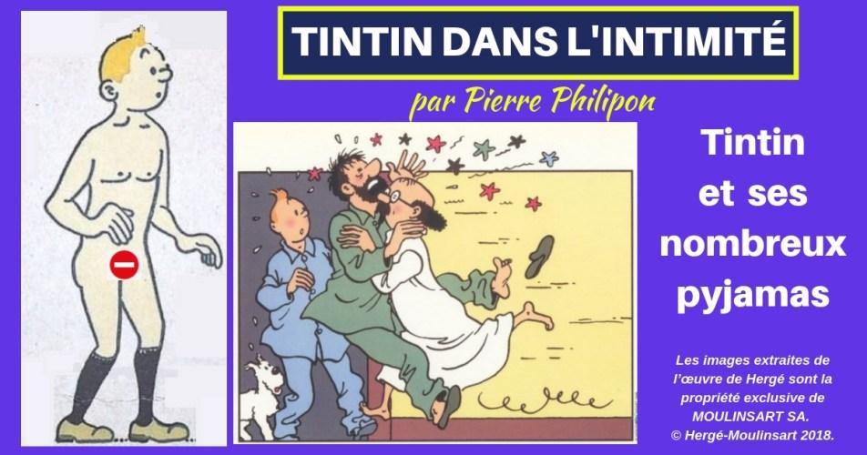 TINTIN DANS L'INTIMITÉ