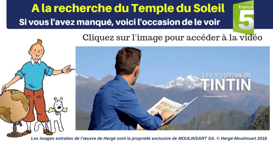 REPLAY : À LA RECHERCHE DU TEMPLE DU SOLEIL