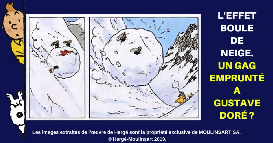 QUAND HERGÉ S'INSPIRAIT DE GUSTAVE DORÉ