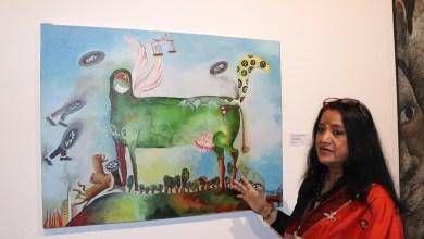 Triển lãm những tác phẩm mỹ thuật đương đại tiêu biểu của châu Á