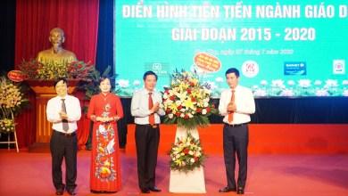Hội nghị điển hình tiên tiến ngành Giáo dục giai đoạn 2015-2020