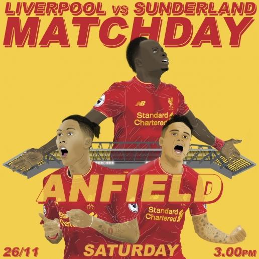 22h00 ngày 26/11, Liverpool vs Sunderland: Thành bại luận anh hùng