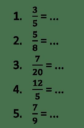 Pecahan Campuran Kelas 4 : pecahan, campuran, kelas, Contoh, Pecahan, Biasa, Menjadi, Campuran, Kumpulan, Pelajaran