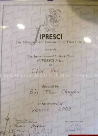 Venice prize-Choi voi